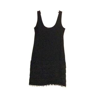BB DAKOTA Sz S Dress with Fringe New Year's Eve